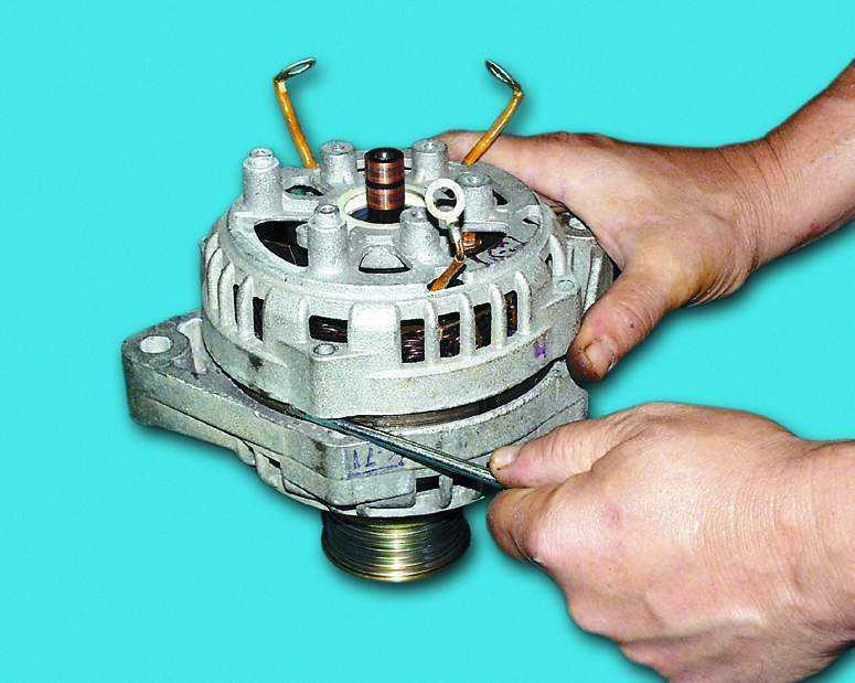 Ремонт генераторов 2110 своими руками 992