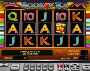 Игровой автомат The Book