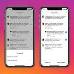 Удалить комментарии в Instagram