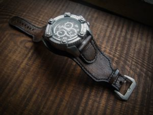 Кожаный ремешок для часов